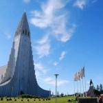 Una catedral de Reikiavik que parece hecha con piezas de Lego