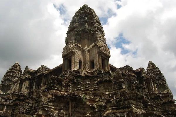 Una torre de Angkor Wat