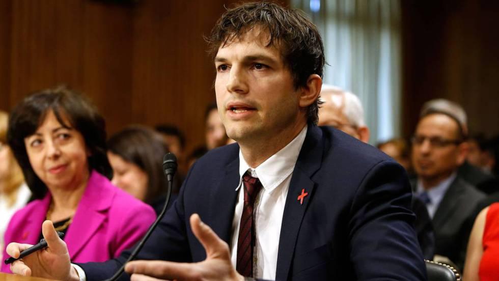 Resultado de imagen para ashton kutcher contra la explotación infantil
