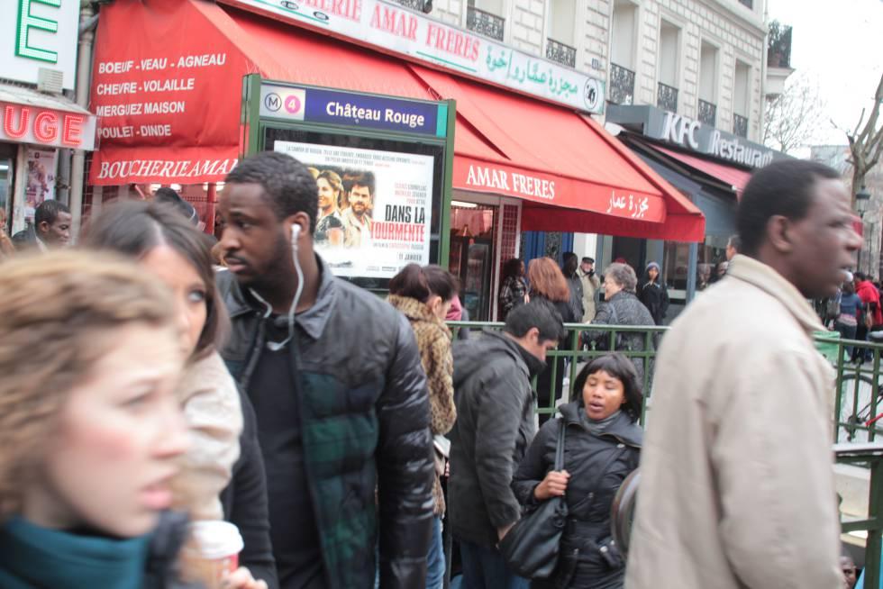 El parisino barrio africano de Château Rouge | Blog Seres Urbanos ...