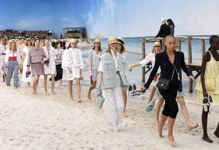 Semana De La Moda De París Chanel Se Lleva La Moda A La Playa