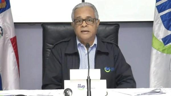 Ministro de Salud Publica