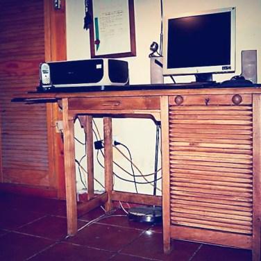 Bur escritorio el p jaro carpintero - Reparar muebles antiguos ...