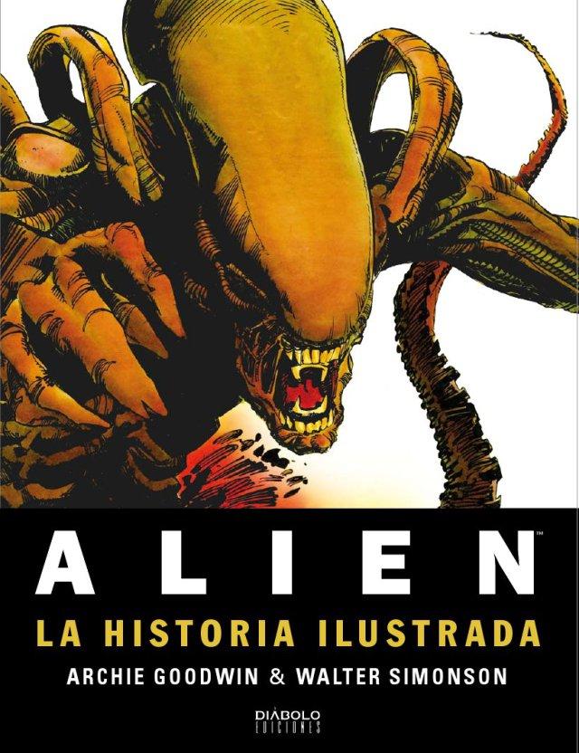 Alien: La historia ilustrada, de Diábolo Ediciones - El Palomitrón