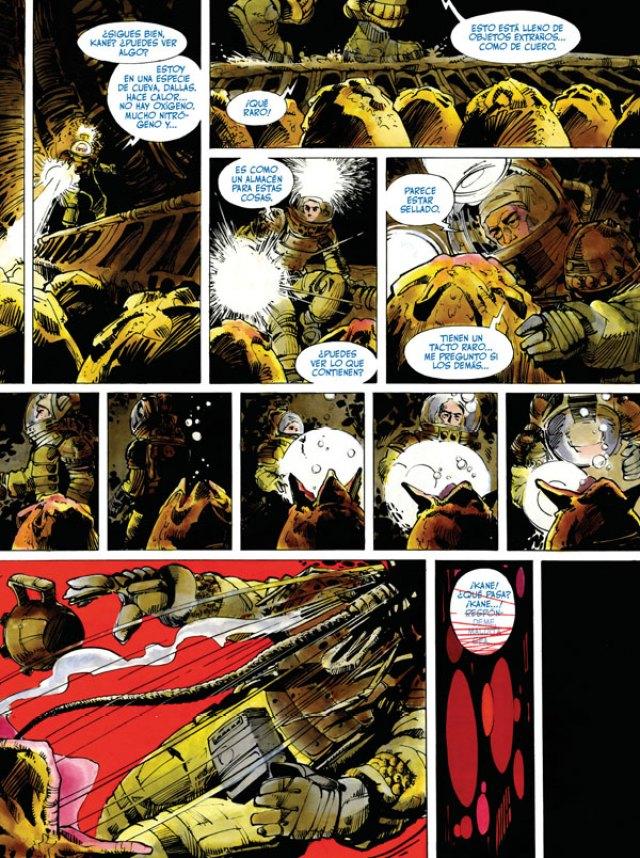 Página Alien: La historia ilustrada en El Palomitrón