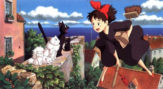 Nicky y Jiji El Palomitrón Miyazaki
