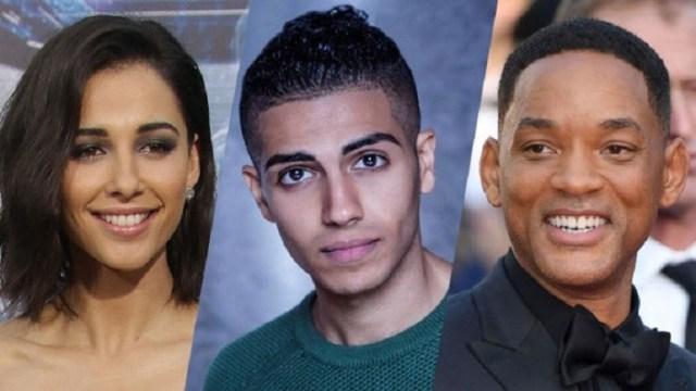 protagonistas para el live-action de Aladdin will smith - el palomitron