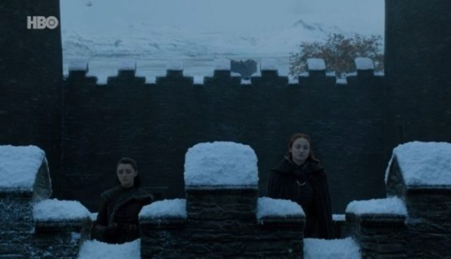 Arya y Sansa - El Palomitrón