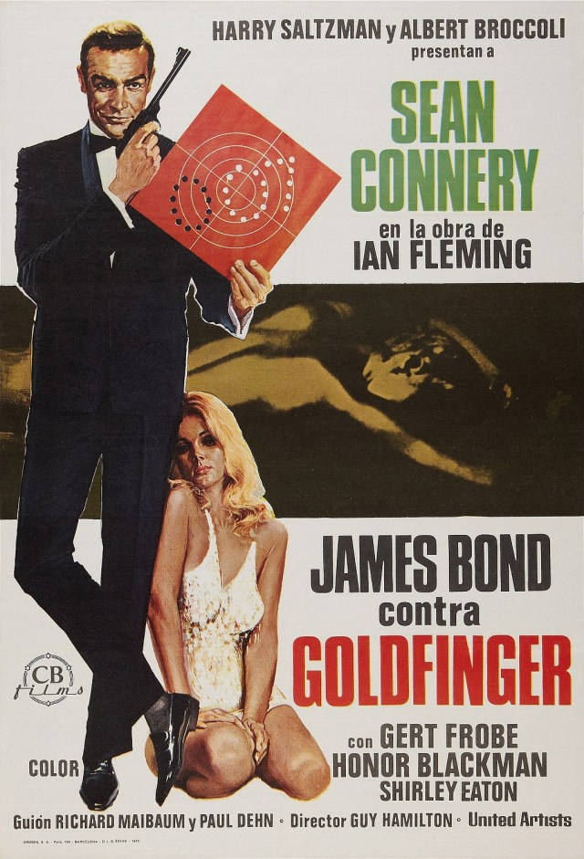 Especial James Bond Goldfinger