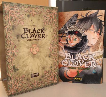 reseña black clover #1 edicion - el palomitron