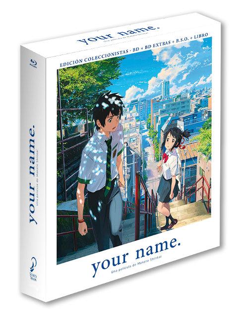 ediciones de your name ed coleccionista - el palomitron