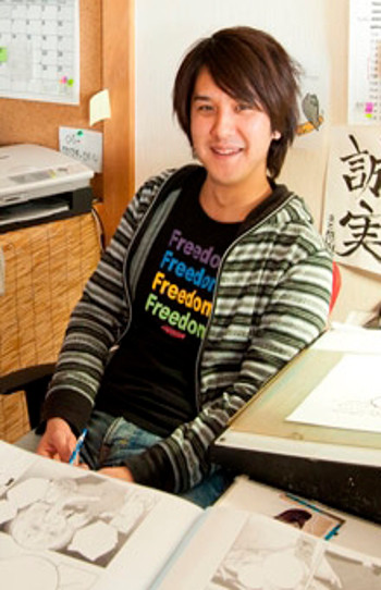 Invitados del XXIII Salón del Manga de Barcelona yoshiaki - el palomitron
