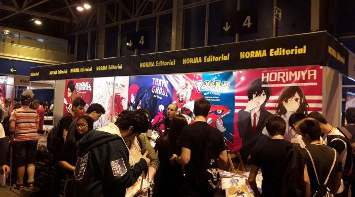 Japan Weekend Madrid 2017 stand 2 - el palomitron