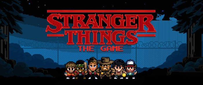 Stranger Things The Game - Portada - El Palomitrón