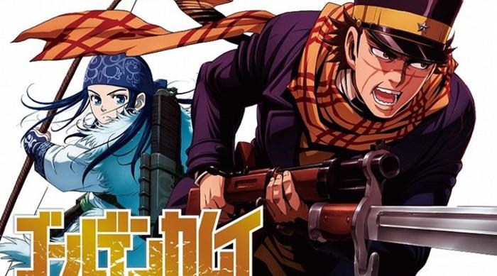 anime de Golden Kamuy personajes - el palomitron