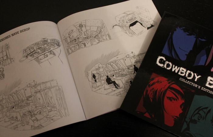 edición coleccionista de Cowboy Bebop libro1 - el palomitron