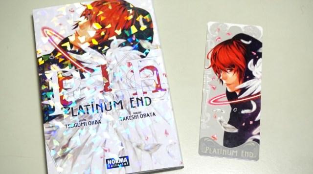 reseña de Platinum End #1 edicion - el palomitron