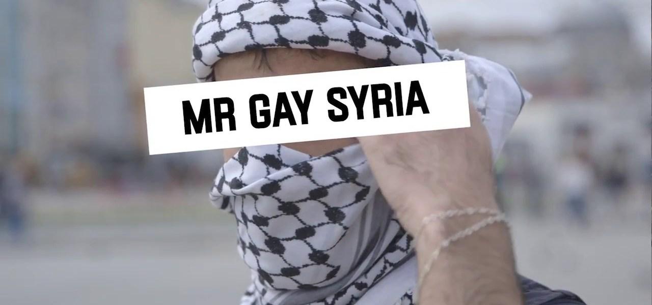 Mr. Gay Syria - El Palomitrón