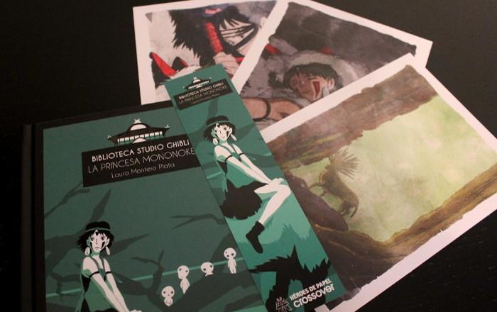 Reseña 'La princesa Mononoke', de Laura Montero Plata pack - el palomitron