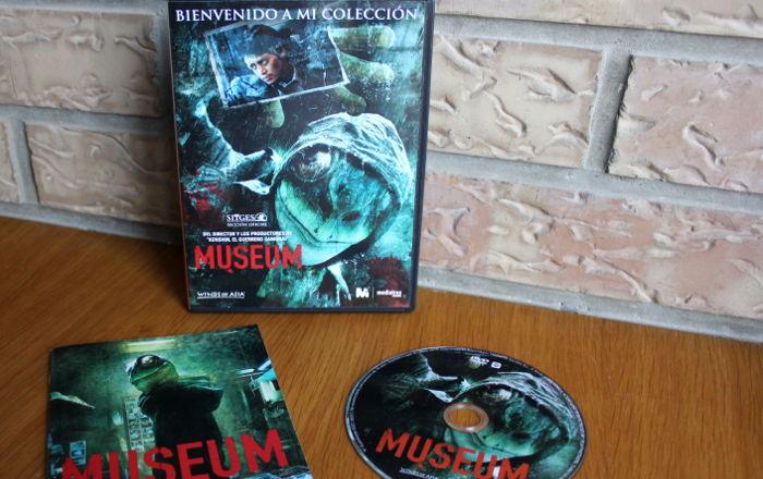 edición coleccionista DVD de Museum, de Mediatres Estudio edicion - el palomitron