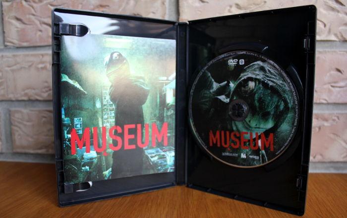 edición coleccionista DVD de Museum, de Mediatres Estudio interior - el palomitron