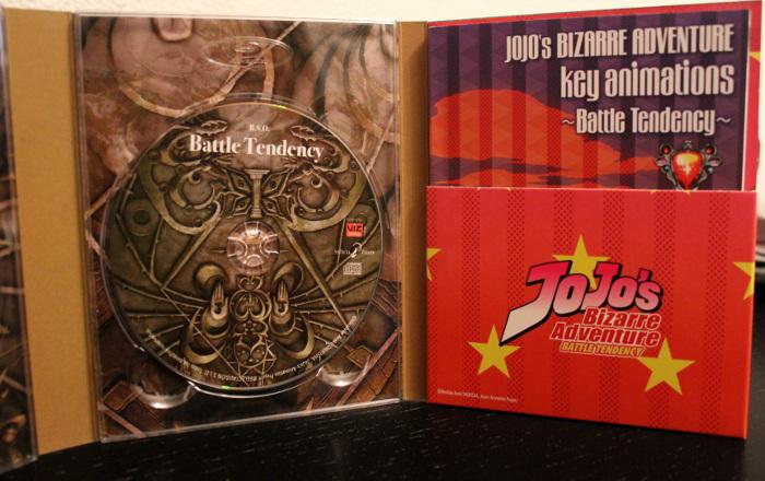 edición coleccionista de JoJo's Battle Tendency, de Selecta Visión banda sonora - el palomitron