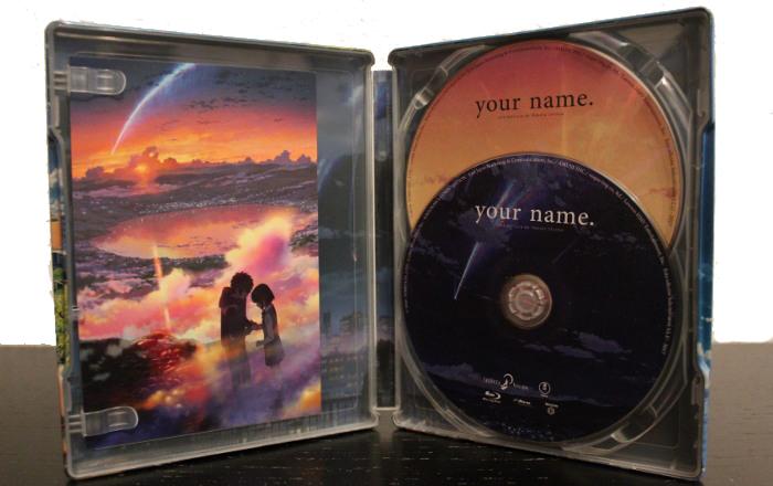 edición coleccionista de Your name, de Selecta Visión interior al completo - el palomitron