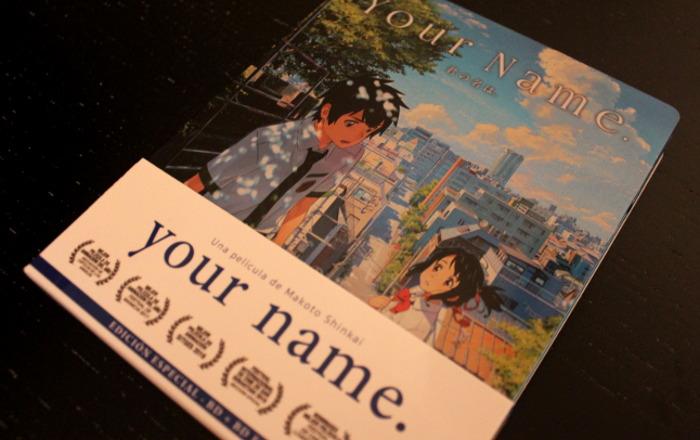 edición coleccionista de Your name, de Selecta Visión portada - el palomitron
