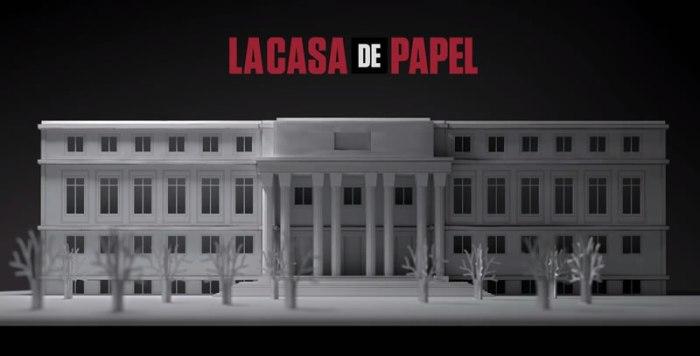 La Casa de Papel Serie Antena 3 El Palomitrón