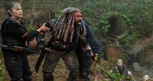 Ezekiel y amigos The Walking Dead El Palomitrón