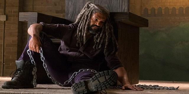 Ezekiel triste The Walking Dead El Palomitrón