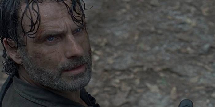 Rick flipando The Walking Dead El Palomitrón