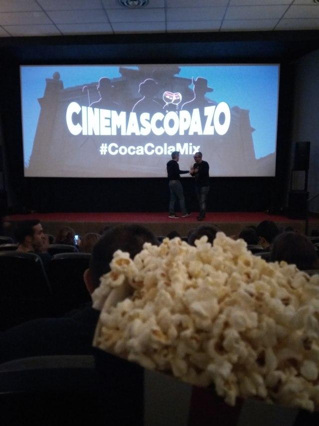 Palomitas Cinemascopazo AHS El Palomitrón