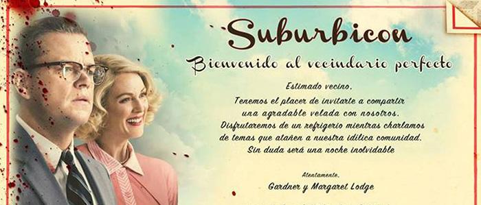 Suburbicon Y Los Cluedo En Vivo El Palomitrón