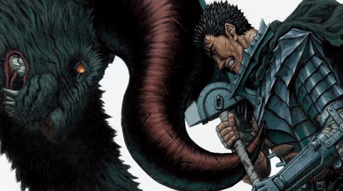 Los mejores mangas de 2017 berserk - el palomitron