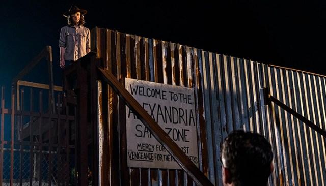 Negan y Carl The Walking Dead El Palomitrón