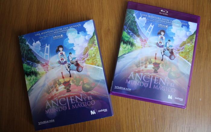 edición Blu-Ray Ancien y el mundo mágico, de Kenji Kamiyama portada - el palomitron