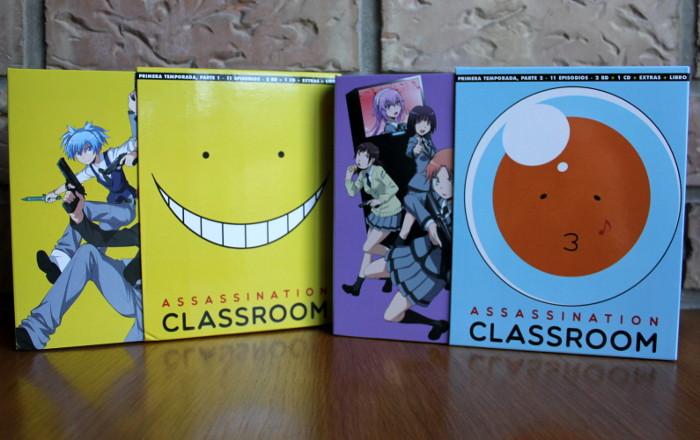 edición coleccionista de la 1º temporada de Assassination Classroom, de Selecta Visión edicion 1 - el palomitron