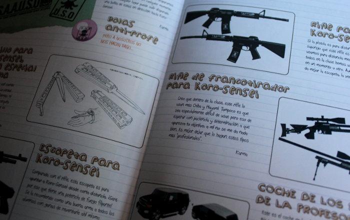 edición coleccionista de la 1º temporada de Assassination Classroom, de Selecta Visión edicion 7 - el palomitron