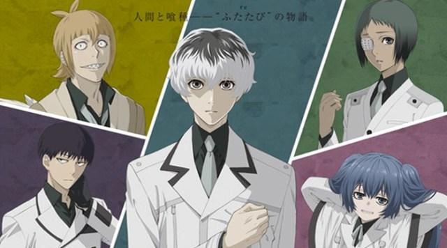 fecha de estreno y tráiler de Tokyo Ghoulre personajes - el palomitron