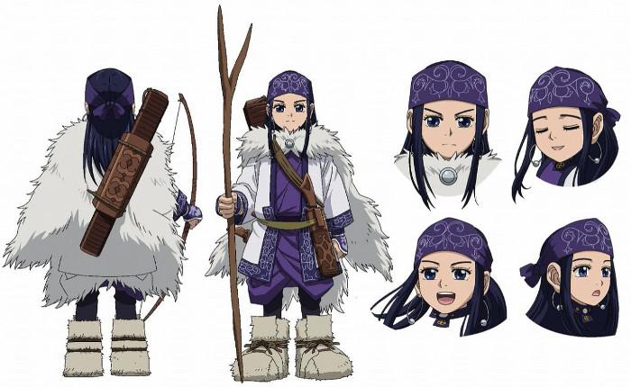 tráiler promocional del anime Golden Kamuy asirpa - el palomitron