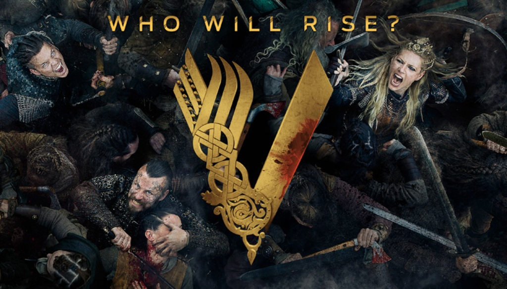 Vikingos Cartel Quinta Temporada El Palomitrón