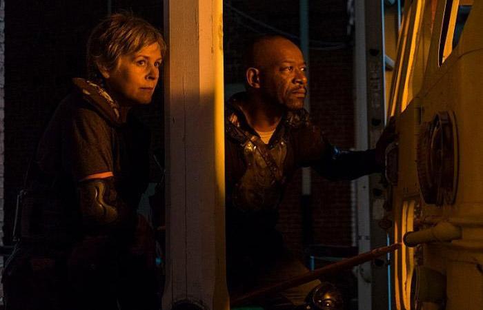 Carol y Morgan The Walking Dead El Palomitrón