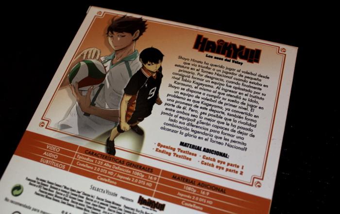 edición Blu-ray de la 1ª temporada de Haikyu!!, de Selecta Visión galeria 2 - el palomitron