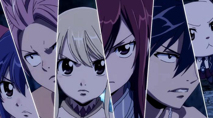 Crítica de Fairy Tail Dragon Cry personajes - el palomitron
