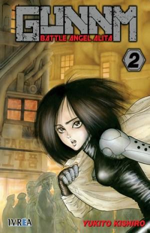 Reseña de GUNNM Battle Angel Alita #2 y #3 portada 2 - el palomitron
