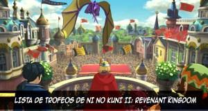 Trofeos de Ni no Kuni II Revenant Kingdom destacada - el palomitron