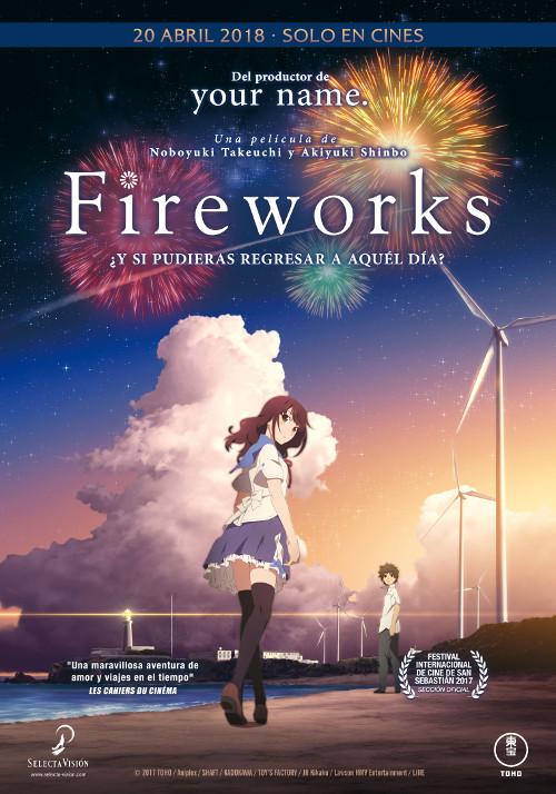 fecha de estreno de Fireworks en España poster - el palomitron