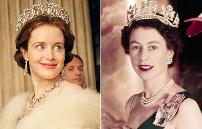 The Crown Claire Foy Reina Isabel II El Palomitrón