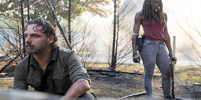 Rick doliente The Walking Dead El Palomitron